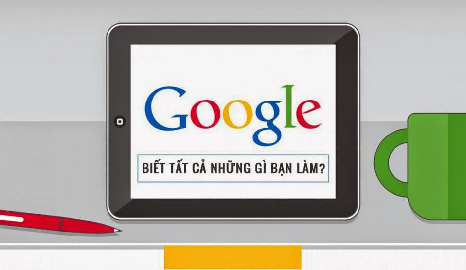 Google biết tất cả những gì bạn làm