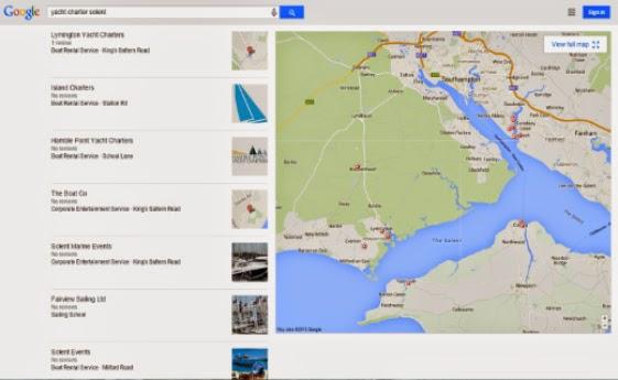 Google đang thử nghiệm hiển thị Logo doanh nghiệp