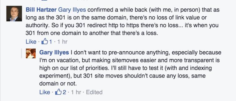 Chuyển hướng HTTP sang HTTPS không ảnh hưởng gì