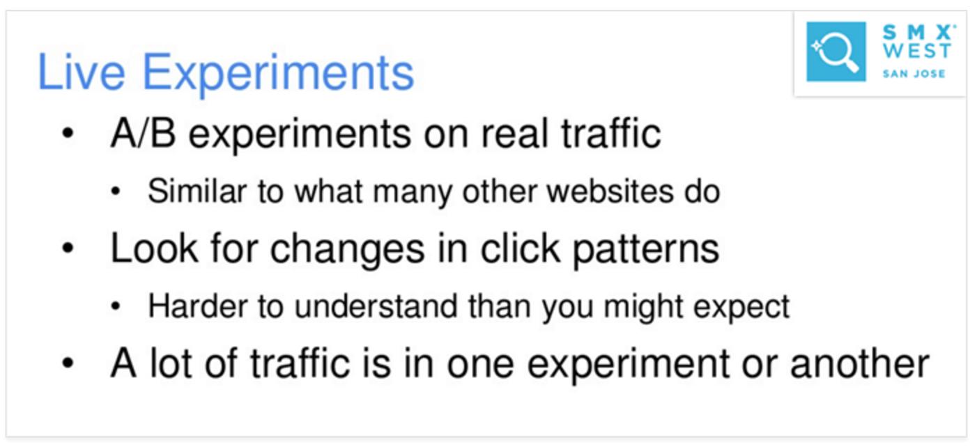 Google xác nhận nhấp chuột ảnh hướng đến kết quả