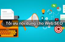 Tối ưu nội dung cho web SEO